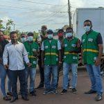 Secretaria de saúde e secretaria de meio ambiente juntas no combate ao corona vírus em Central do Maranhão.